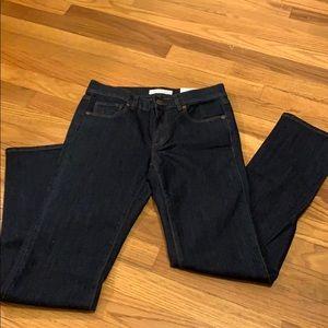 Ann Taylor loft modern straight jeans size 26 p